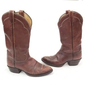 Tony Lama El Paso TX Western Boots Vintage Sz 10 D